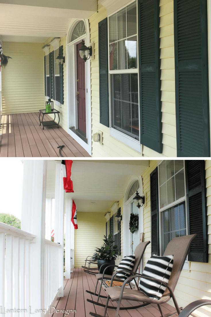 Decor ideas for your front porch