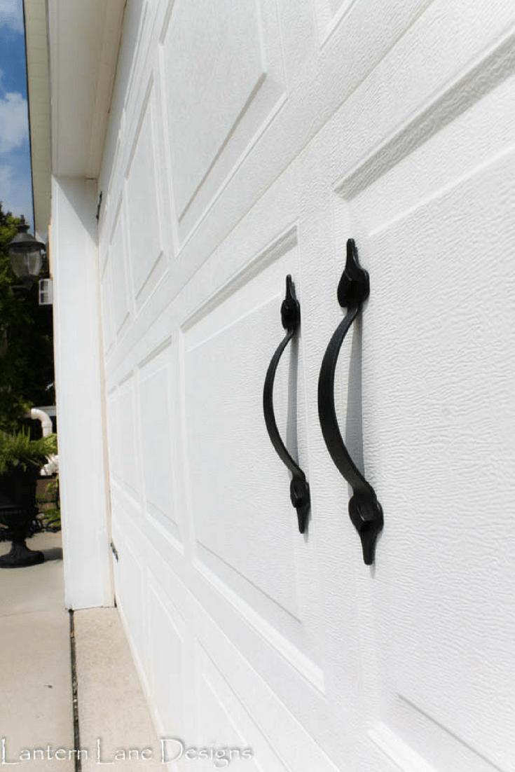 Inexpensive way to update your garage door