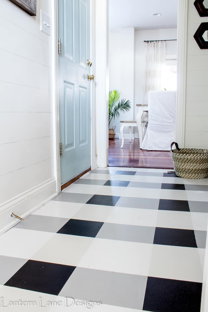 How To Paint Your Linoleum Floor