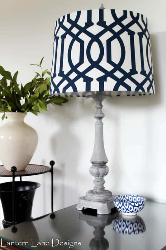 How to update your lamp with chalk paint and wax