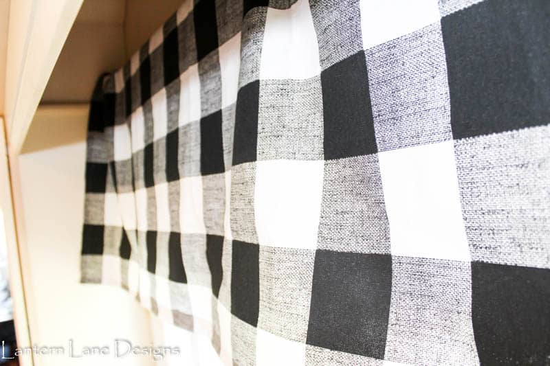 How to make a kitchen valance