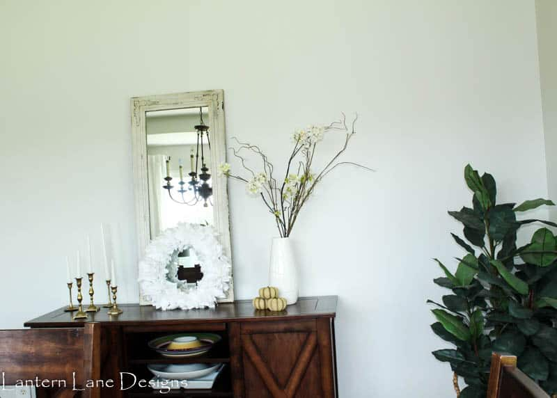 Dining Room Fall Makeover