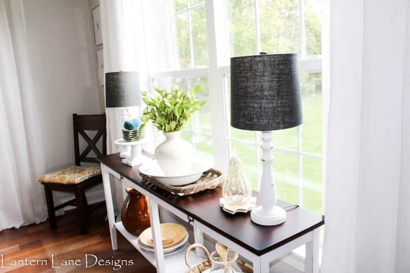 Fall Dining Room Makeover