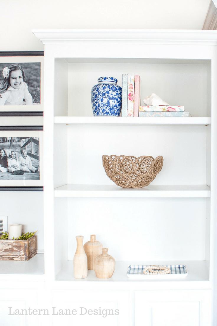 Bookshelf Decor Ideas-DIY Covered Books