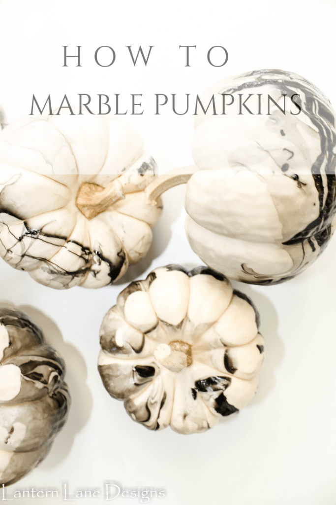 How To Marble Pumpkins For A Quick And Easy Fall Decor DIY Project
