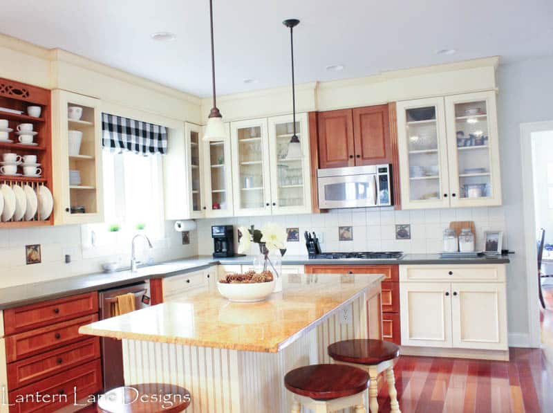How to paint your backsplash