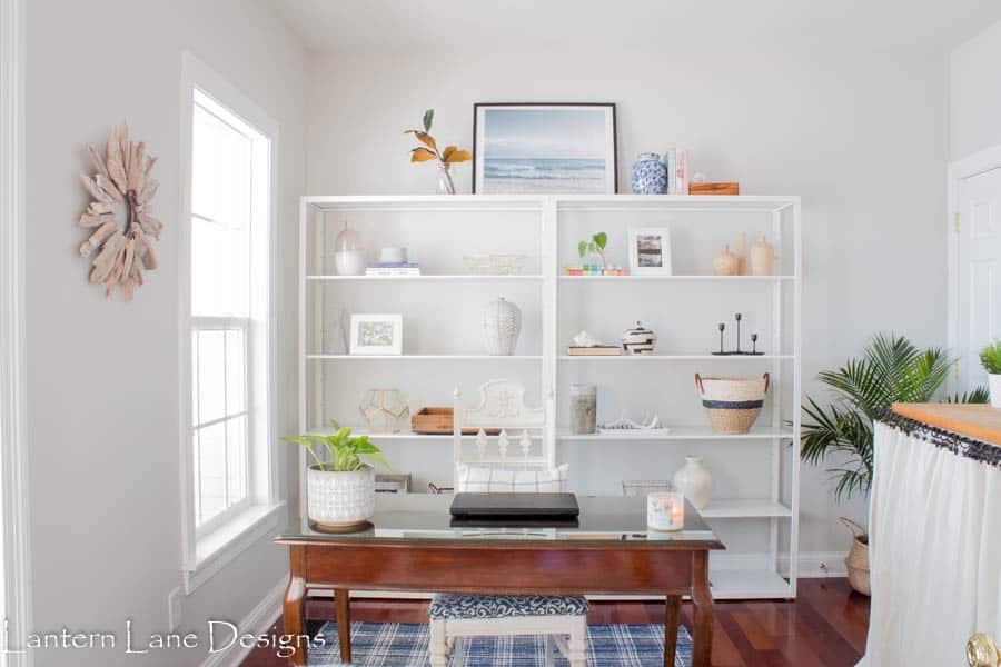 Office Makeover with IKEA Fjalkinge Shelfs