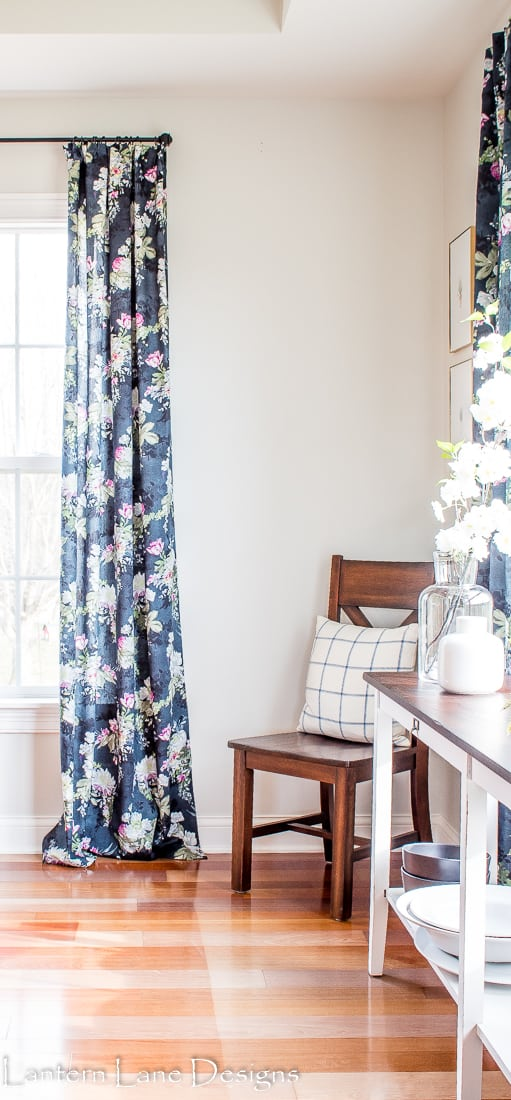 DIY No Sew Curtains And How To Fake A Pinch Pleat