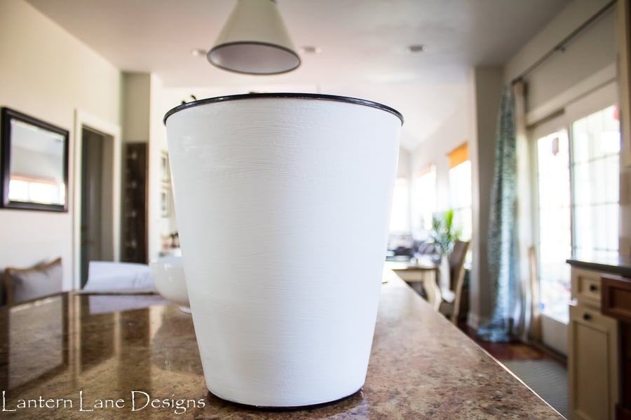 DIY Planters Using Trash Cans
