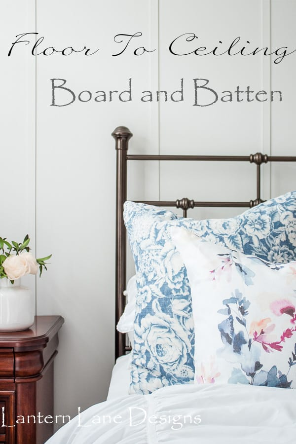 DIY Board And Batten|How To Install Floor To Ceiling Board And Batten