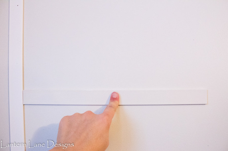 How to add floor to ceiling board and batten to your walls