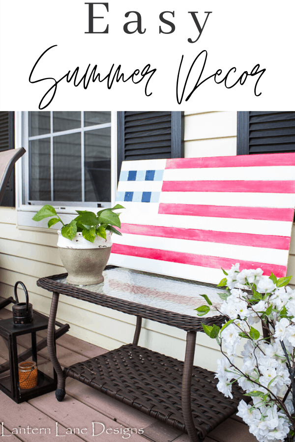 DIY Summer Decor