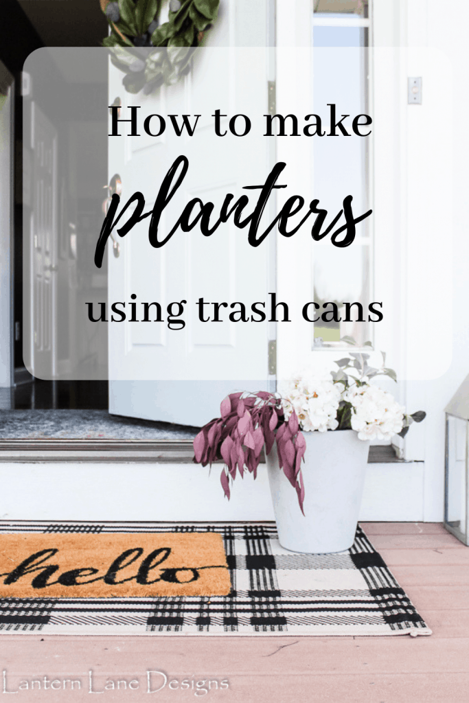 How to make your own DIY Planter