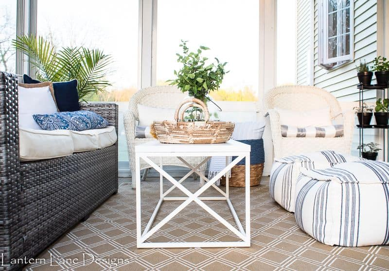 Sunroom Coffee Table Wm Compressor Lantern Lane Designs