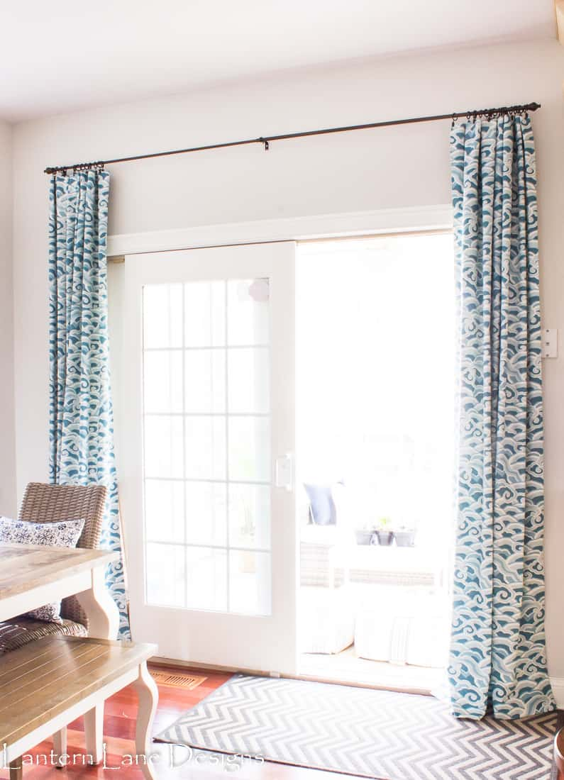 How to train your drapes to hang nicer