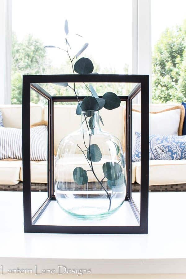DIY Modern Lanterns Using Inexpensive Frames