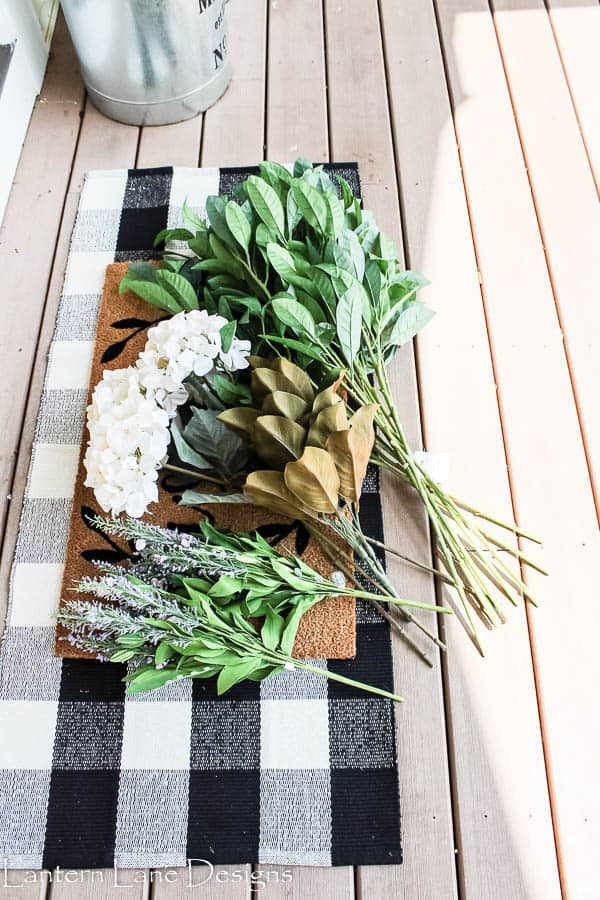 Outdoor Decorating Ideas-Decorating With Faux Flowers