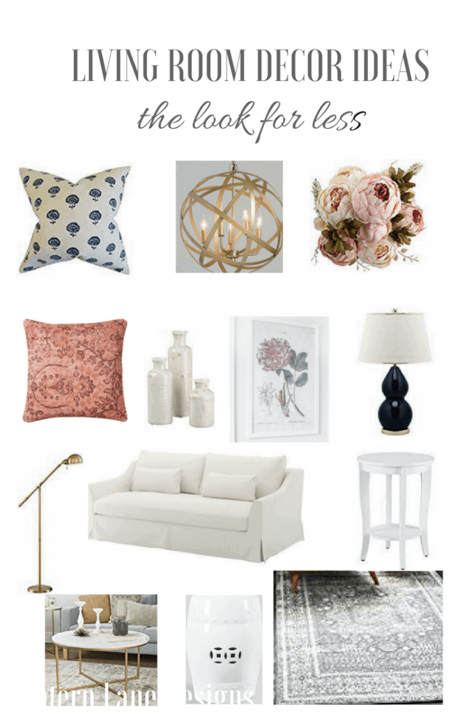 Living Room Decor Ideas~The Look For Less