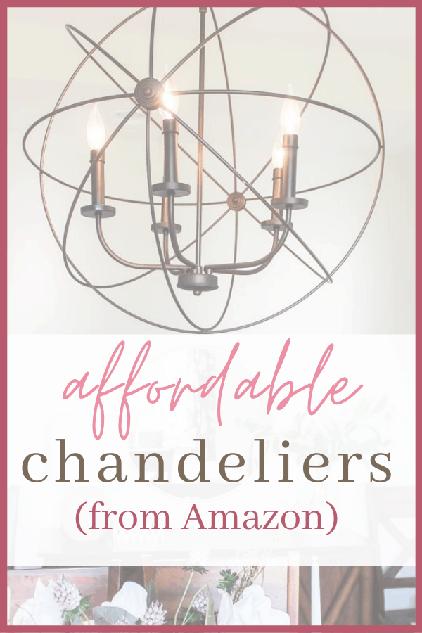 affordable chandeliers