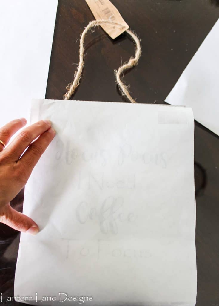 How To Transfer Words To Wood