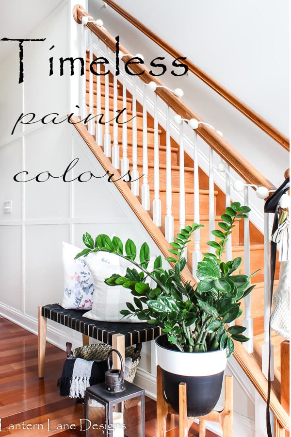 Trying to find the perfect paint color for your walls? I listed some timeless and classic paint colors that will look good in any room in your house as well as some tips and tricks on picking the perfect paint color #homedecor #decorideas #paintcolors