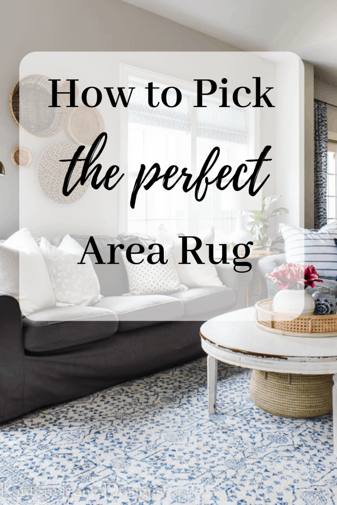 How to pick the perfect area rug for your home