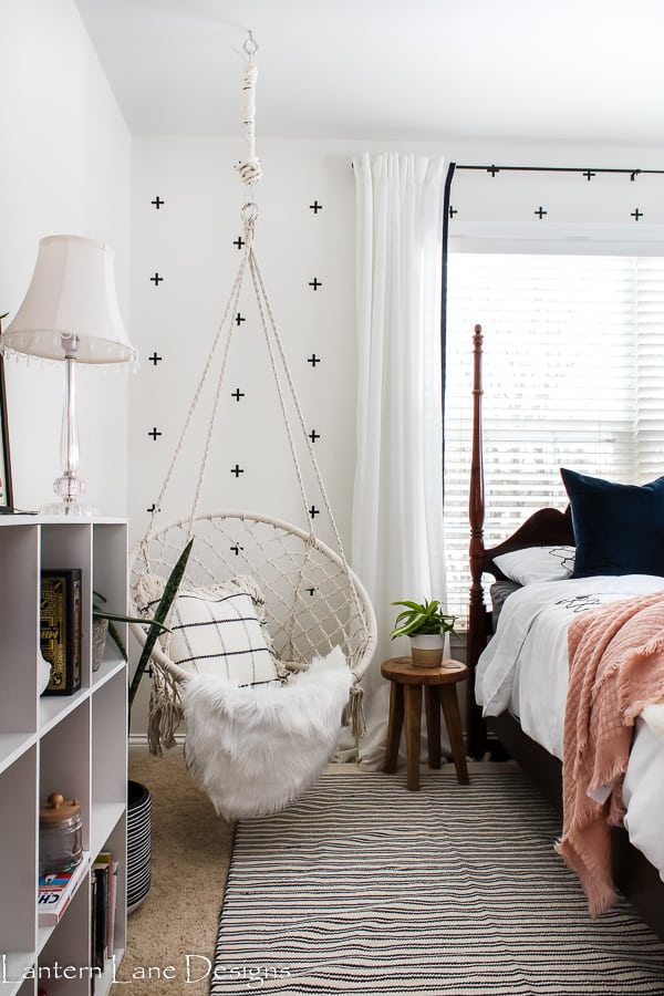 Tween bedroom makeover and how to easy alternatives to wallpaper