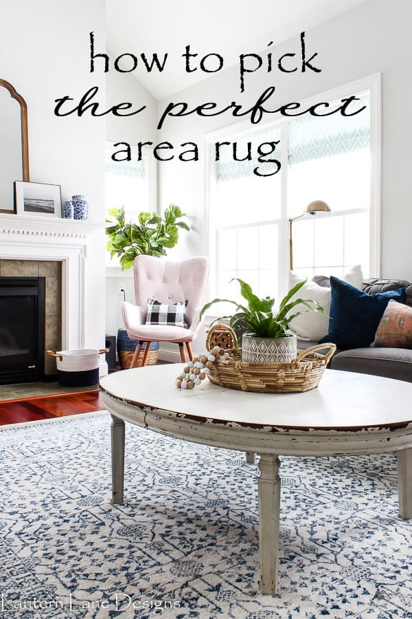How to pick the perfect area rug