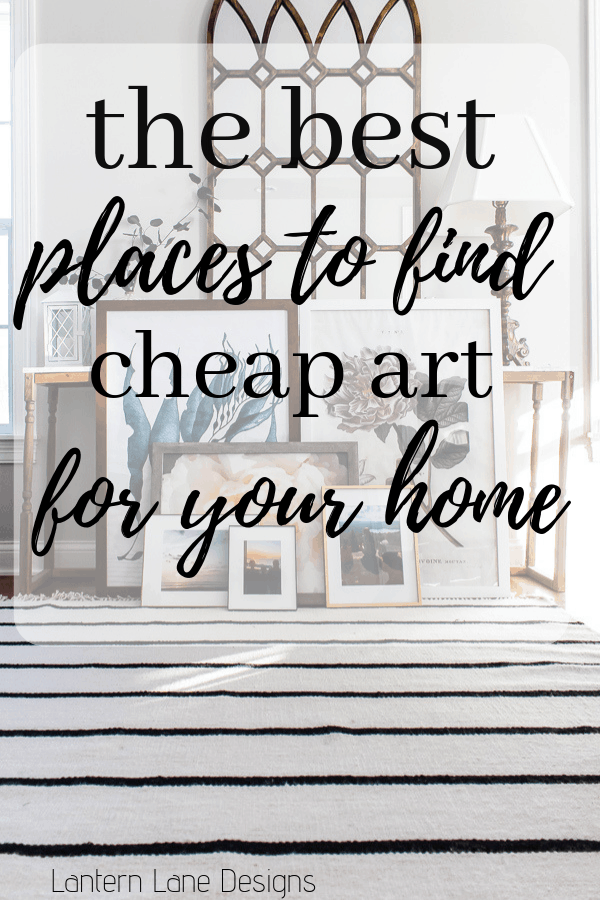 The best places to find cheap wall art