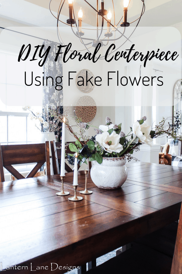 DIY Floral Centerpiece and How To Arrange Flowers