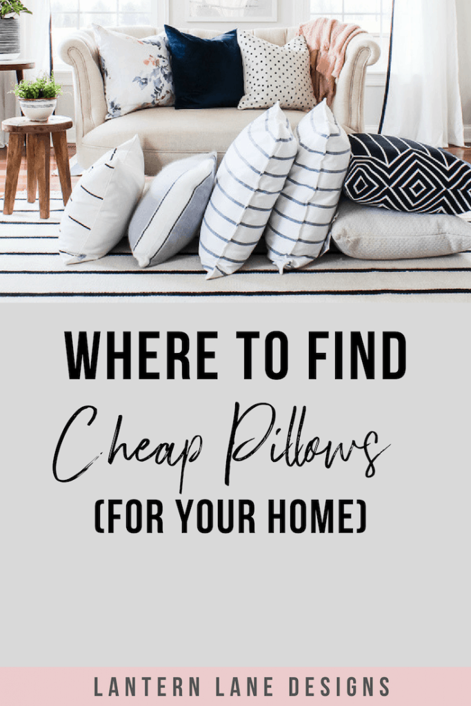 Where to find cheap pillows for your home