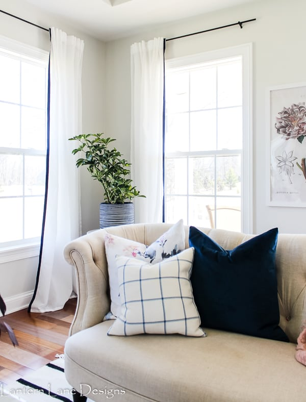 Creative ways to make your own window treatments
