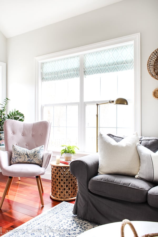 DIY No Sew Window Treatment Ideas