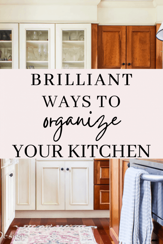 Brilliant ways to organize your kitchen