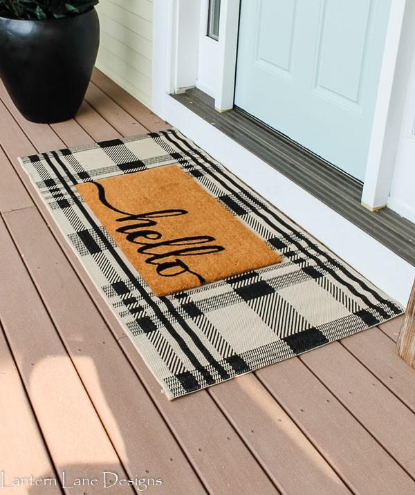 Popular outdoor rugs