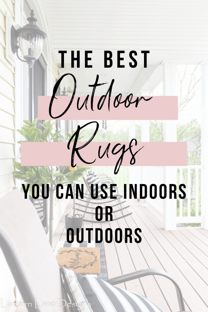 The best outdoor rugs you can use inddoors or outdoors