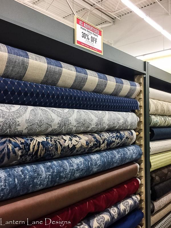 Fabric at Hobby Lobby