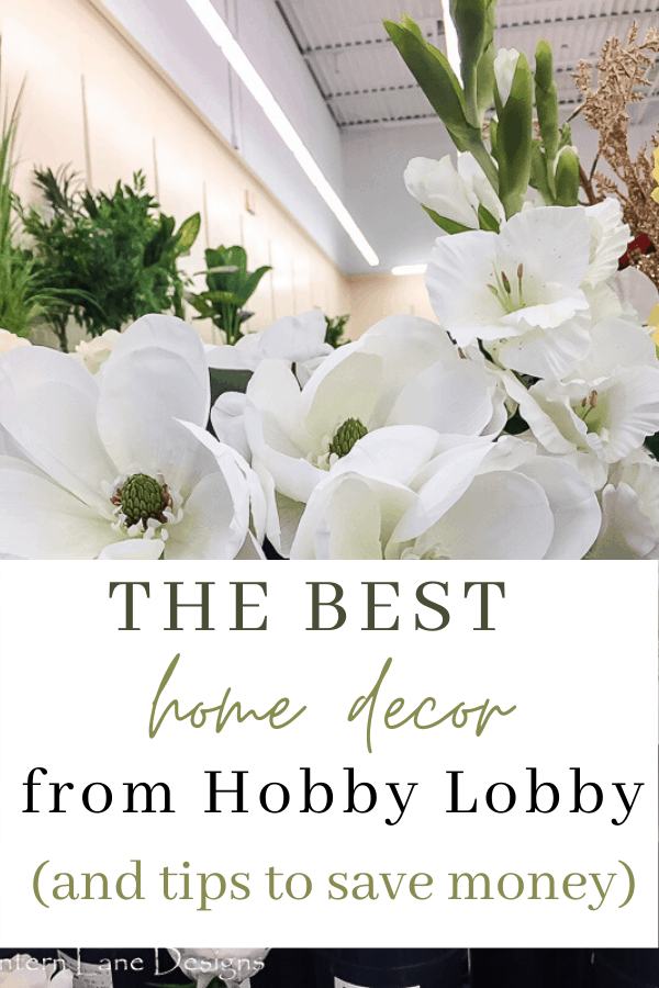 The best home decor from Hobby Lobby