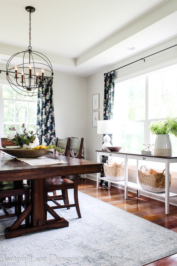 dining room decor for summer