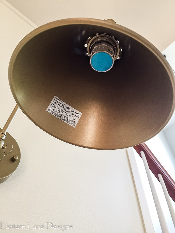How to add puck light to sconce