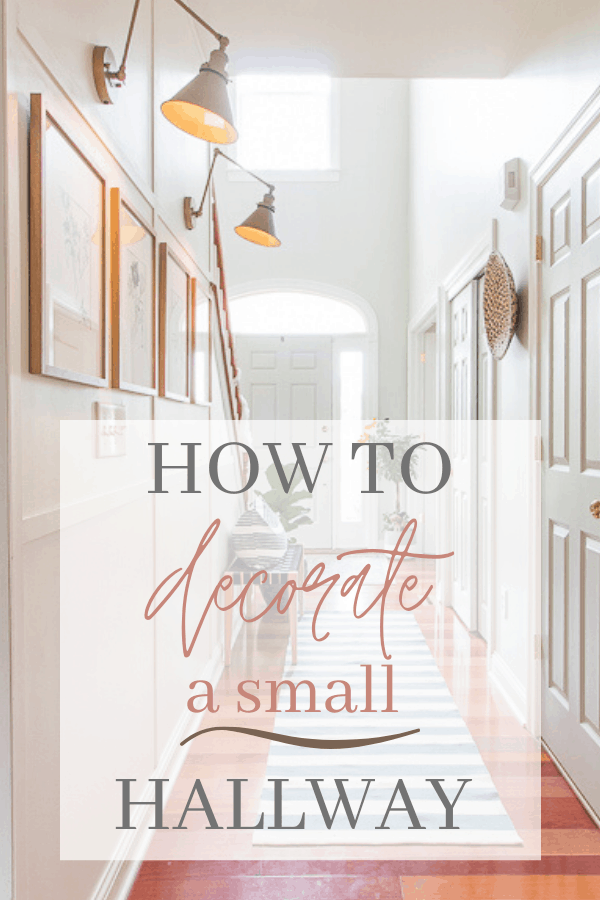 How to decorate a small hallway