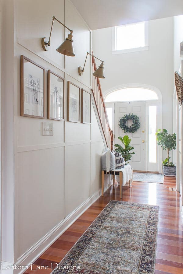Narrow Hallway Wall Decor