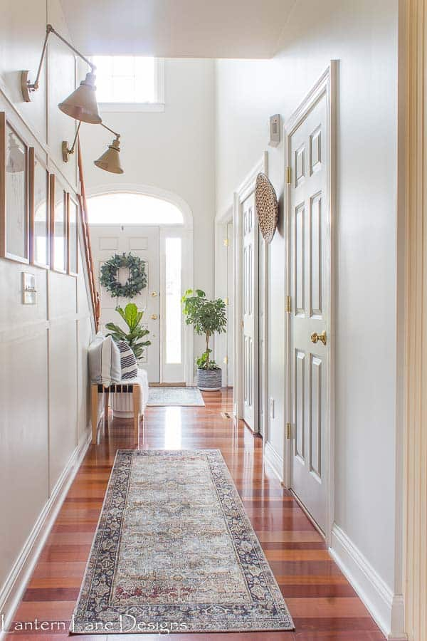 Narrow Hallway decor