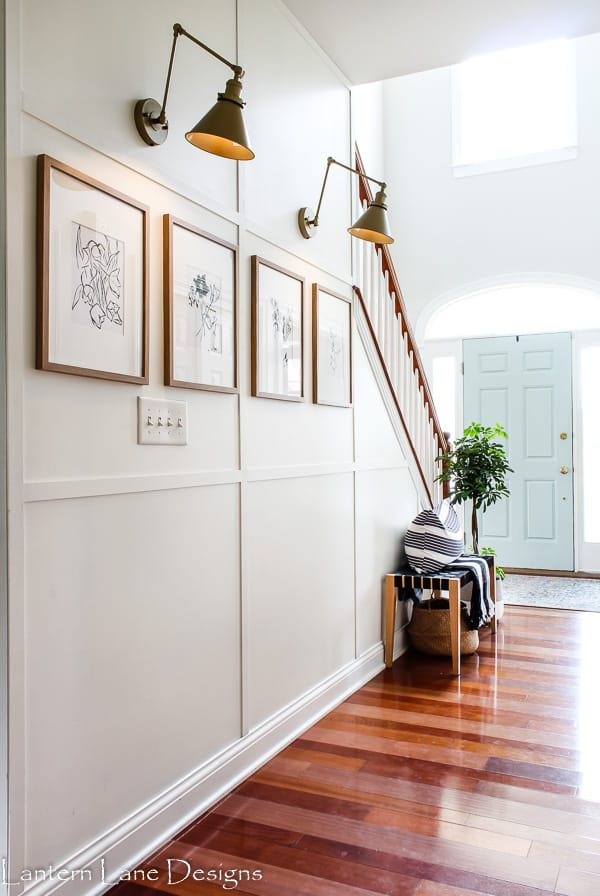Hallway ideas for dark and narrow hallways