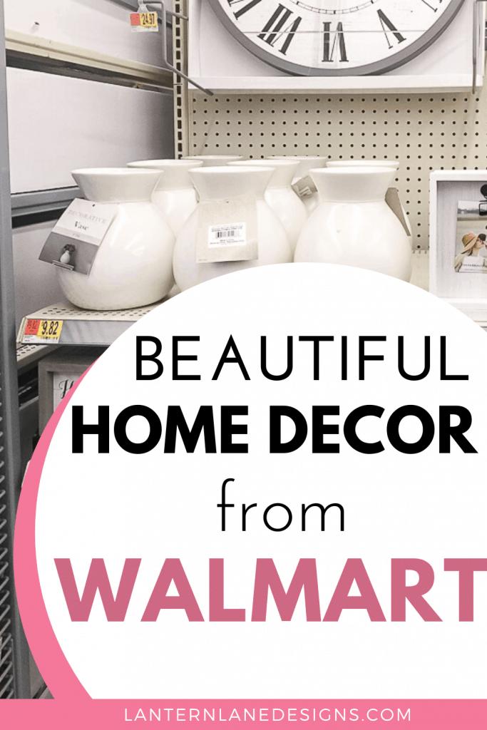Walmart Home Decor