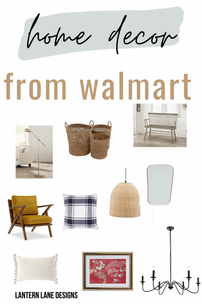 home decor from walmart