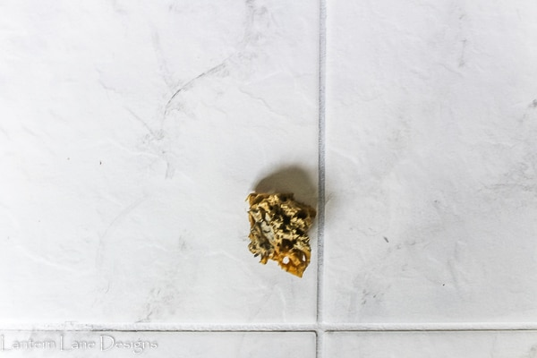 How to paint tile to look like marble