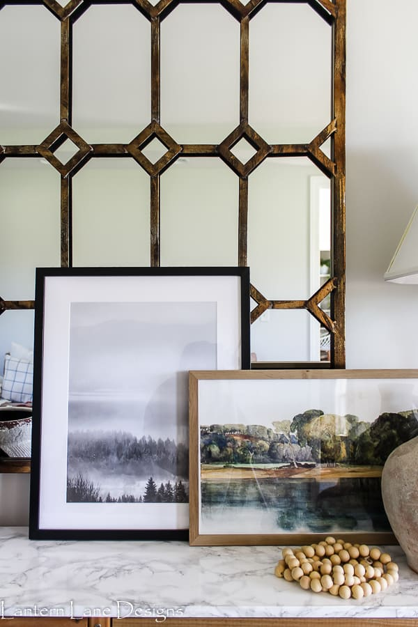 IKEA poster and frames