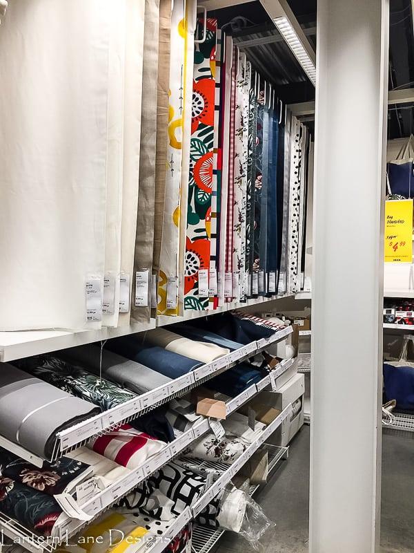 Fabric at IKEA