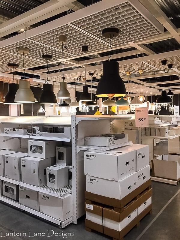 Lighting at IKEA